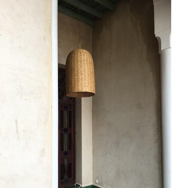 Lampe i naturflet