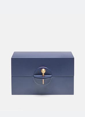 Smykkeskrin, blå