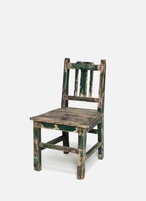 Mini stol, grøn