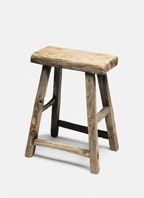Skammel i vintage wood