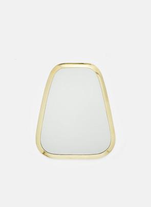 Messing spejl, lille