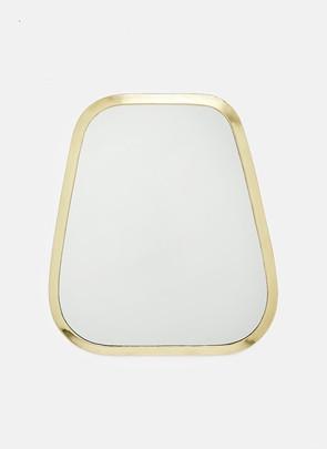 Messing spejl, stor