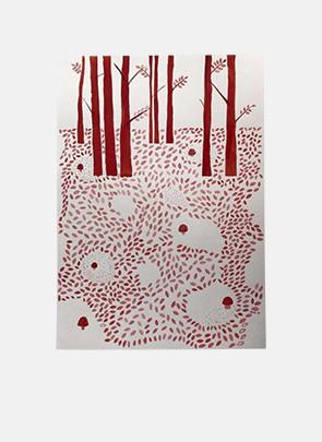 Red Forrest af Ana Frois