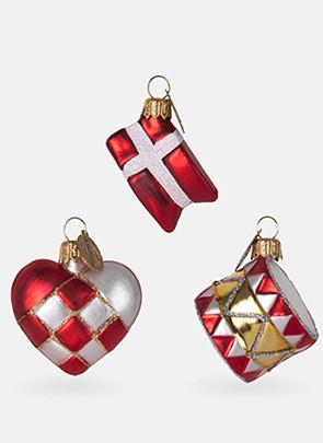 Hjerte, flag og tromme fra Brink Nordic